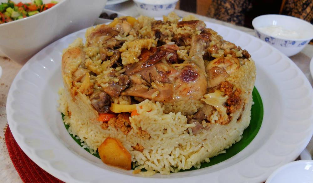 Jamilas maqluba taste of palestine jamilas maqluba chicken forumfinder Choice Image